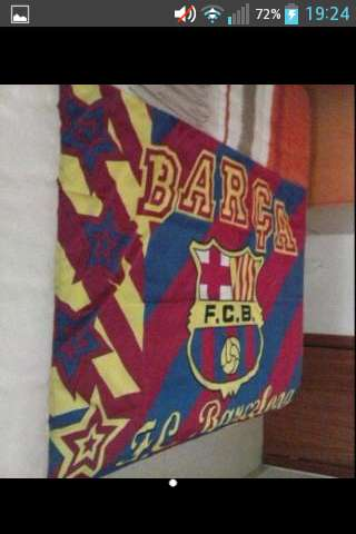 Imagen bandera de fcb club barcelona
