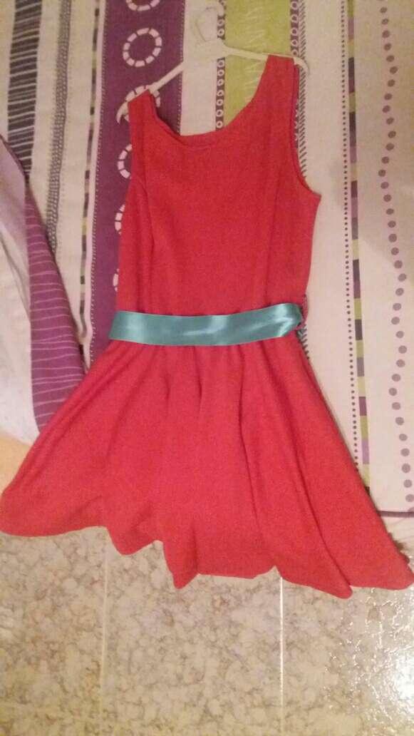 Imagen Vestido rojo coral