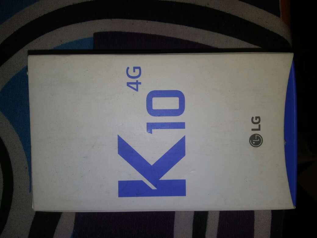 Imagen lg k 10 en muii buen estado