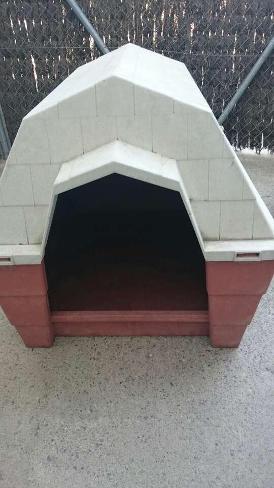 Imagen caseta de perro mediano