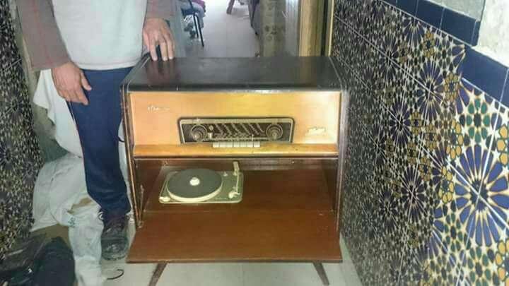 Imagen radio tocadiscos