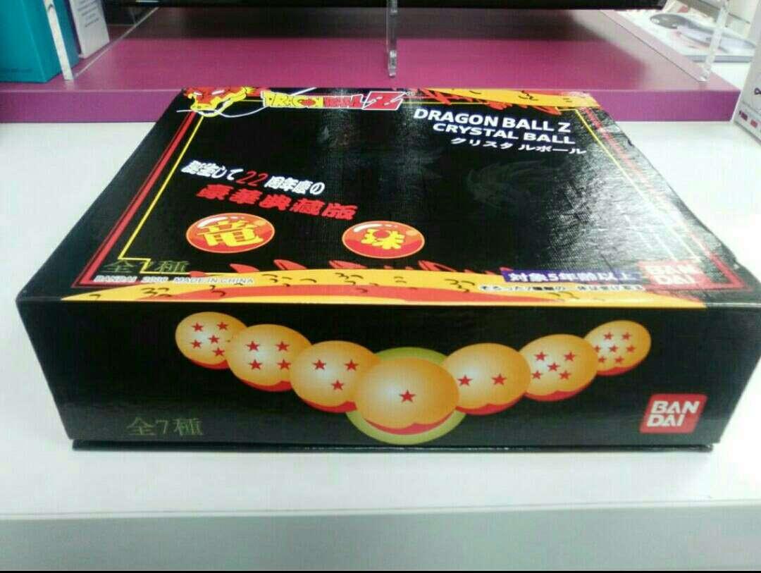 Imagen producto Caja 7 Bolas Dragón Ball Bandai 2
