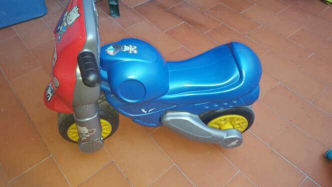 Imagen moto para niño