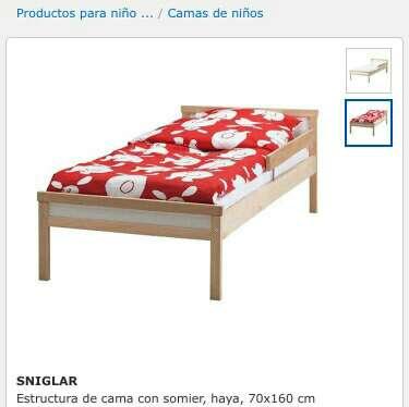 Imagen cama ikea niños