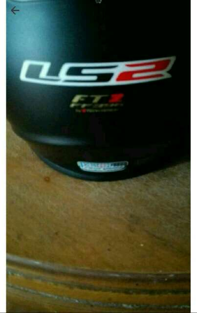 Imagen cambio casco talla S por talla M