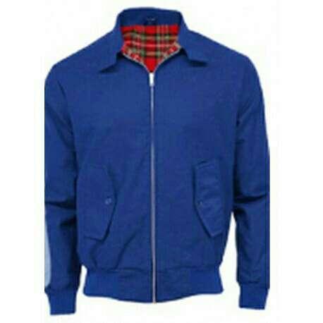 Imagen chaqueta cazadora Harrington blue