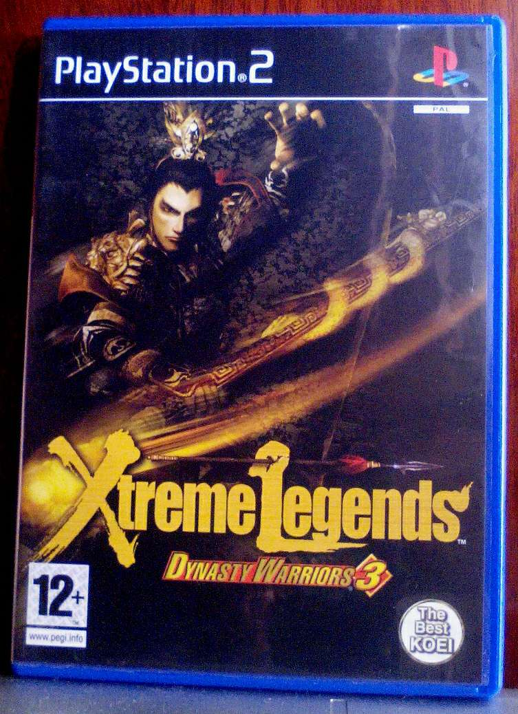 Imagen Juego ps2 xtreme legends dynasty warriors 3