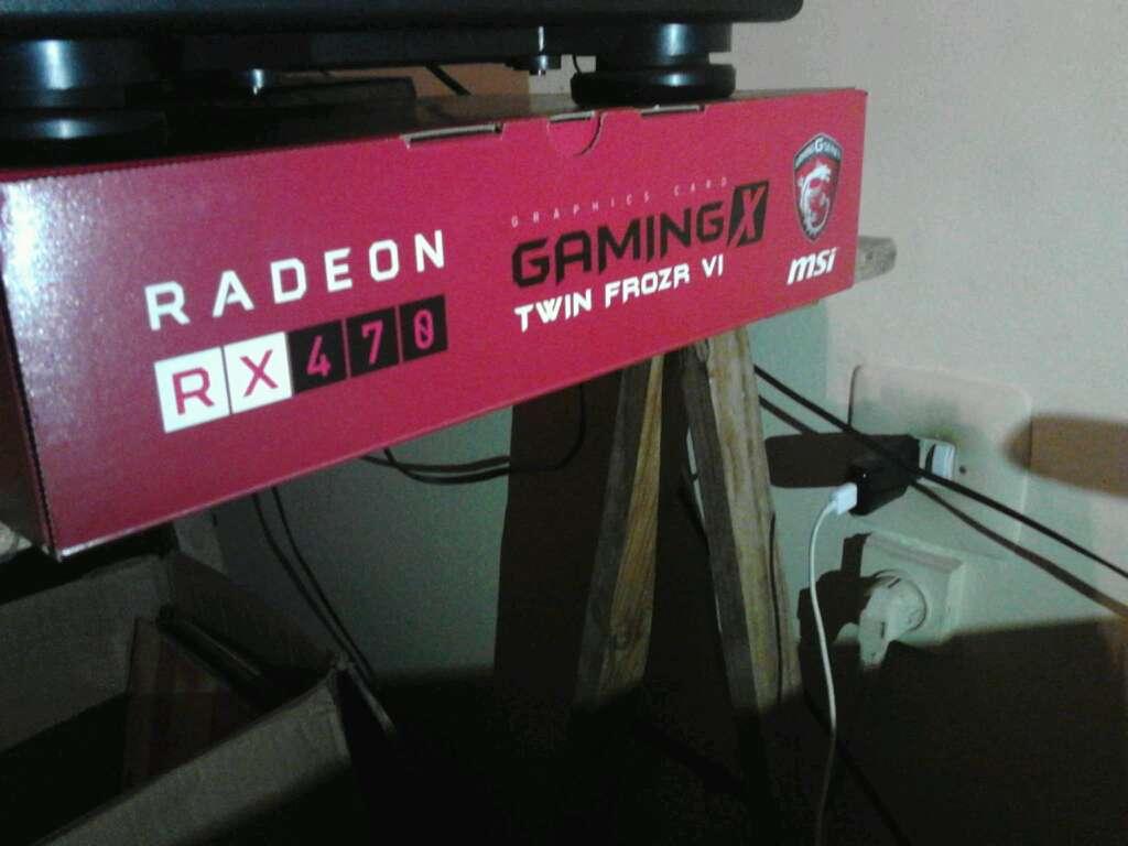 Imagen producto Msi RX 470 8GB GDDR5 256 BIT 2