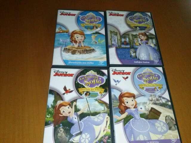 Imagen dvds princesa sofia