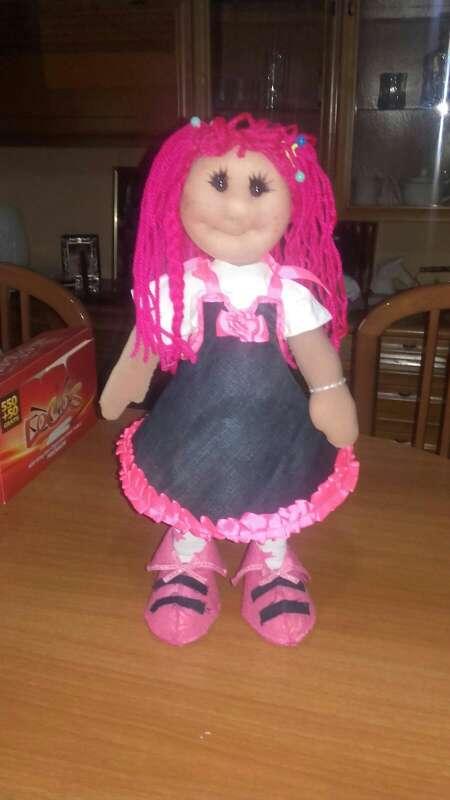 Imagen muñecas hechas a mano