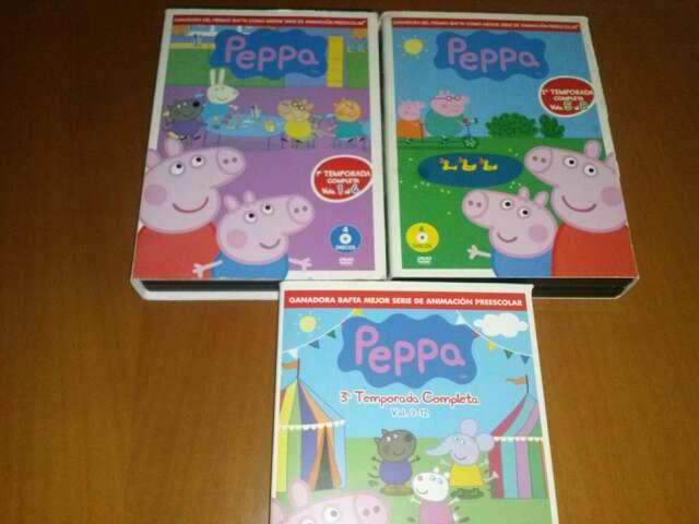 Imagen dvds de peppa pig