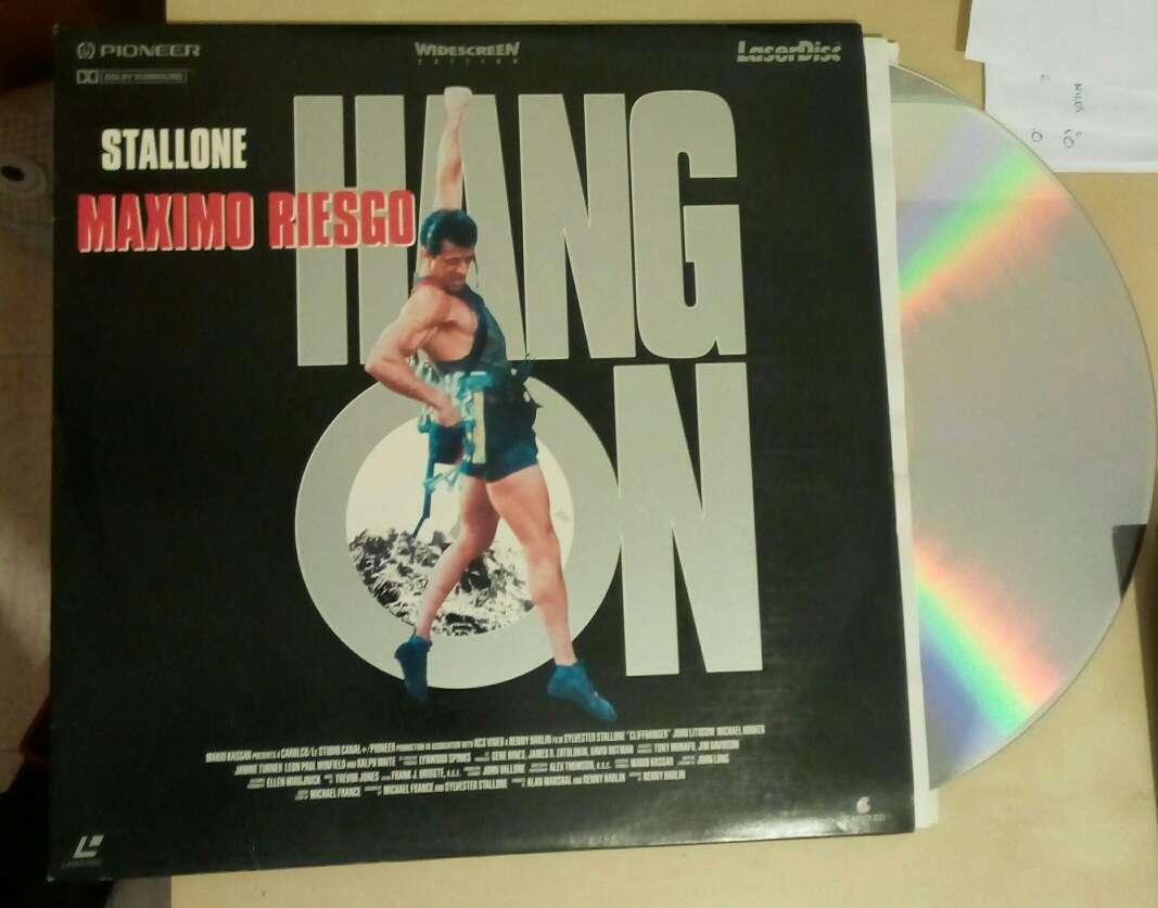 Imagen producto Reproductor Laserdisc Pioneer sin mando con película  3