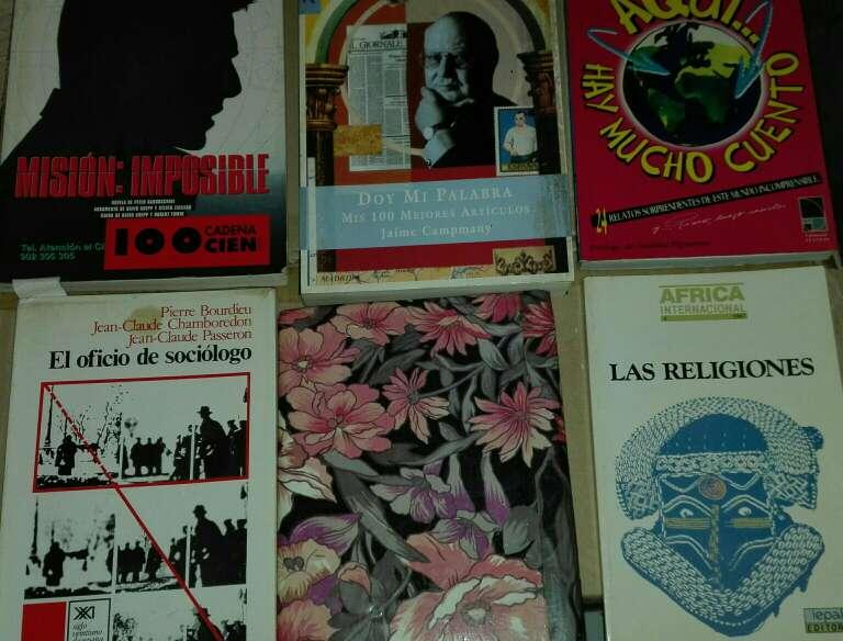 Imagen gran variedad de libros