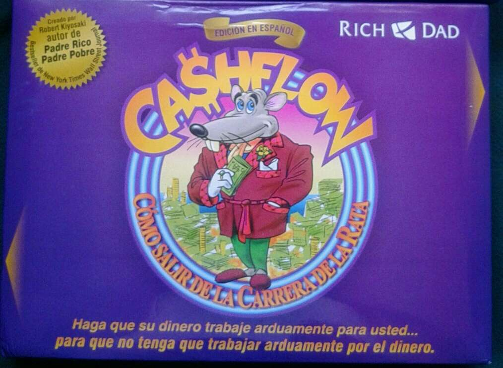 Imagen producto Cashflow 101 juego mesa 2