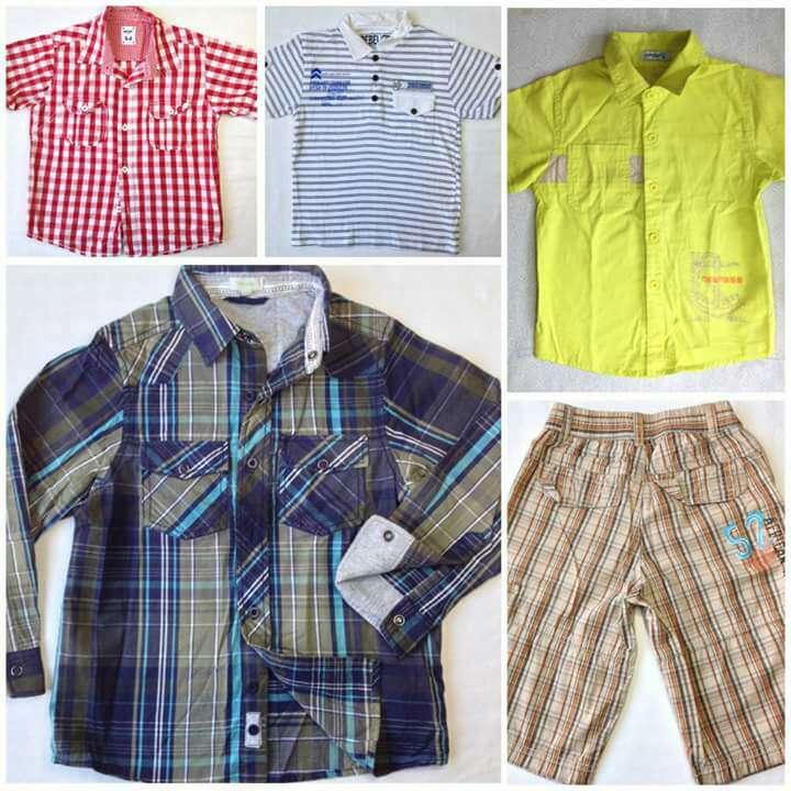 Imagen Oferta lote Camisas y pantalón