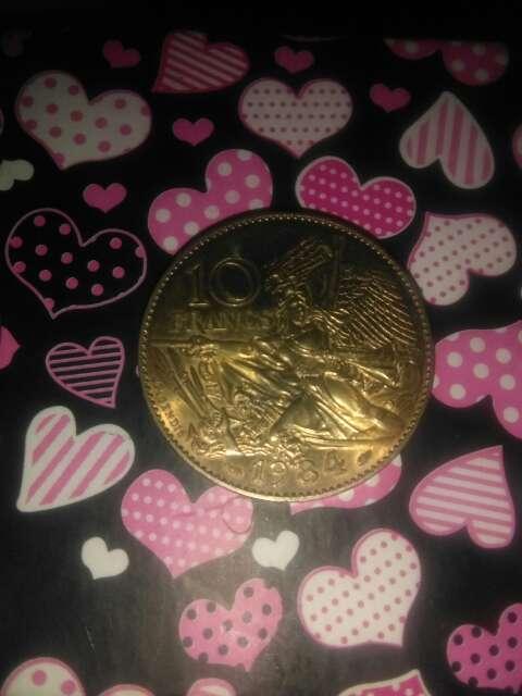 Imagen 3 monedas francesas