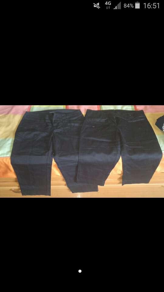 Imagen Vendo pantalones negros Mango