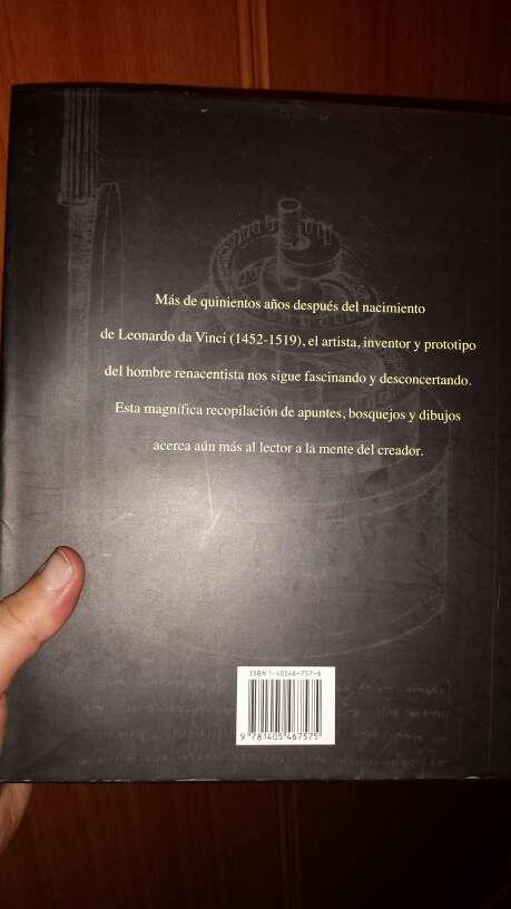 Imagen producto Libro Cuadernos de Leonardo da Vinci 2