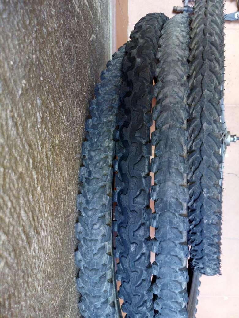 Imagen componentes de bicicleta de montaña