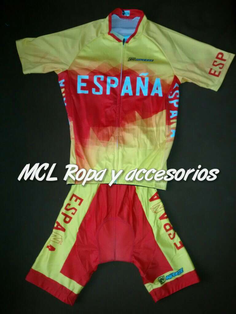 Imagen A estrenar maillot + cullote mod.España