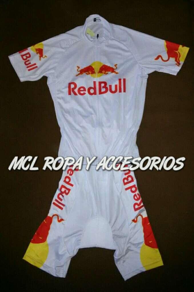 Imagen A estrenar maillot + cullote mod. Red bull