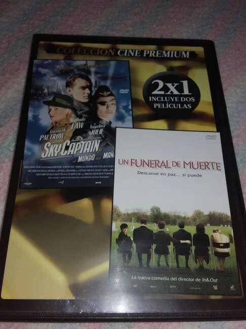 Imagen pack de 2 películas.