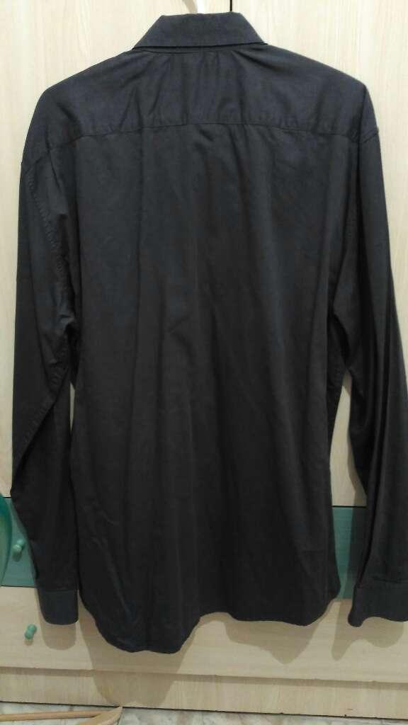 Imagen producto Camisa gris hombre 3