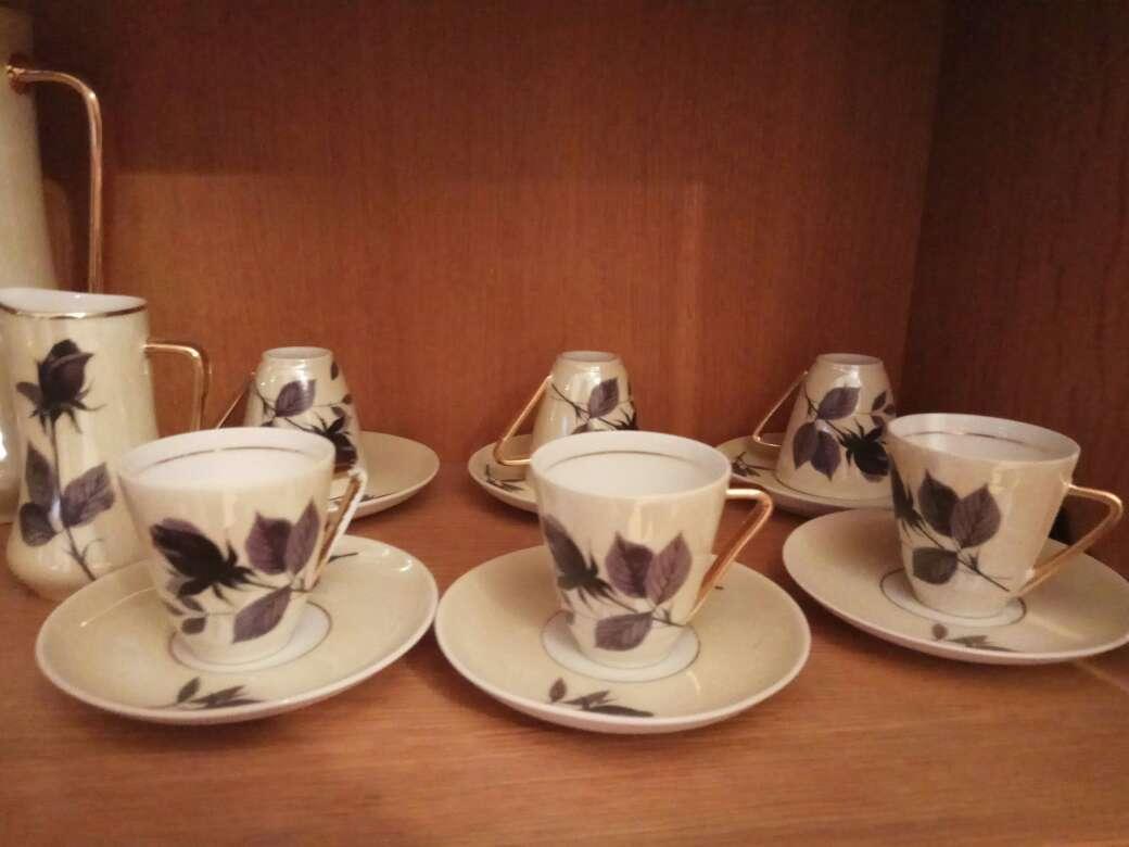 Imagen juego tazas de cerámica