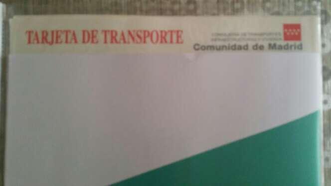 Imagen Tarjeta de transporte MDP