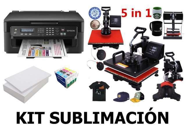 Imagen kit sublimación