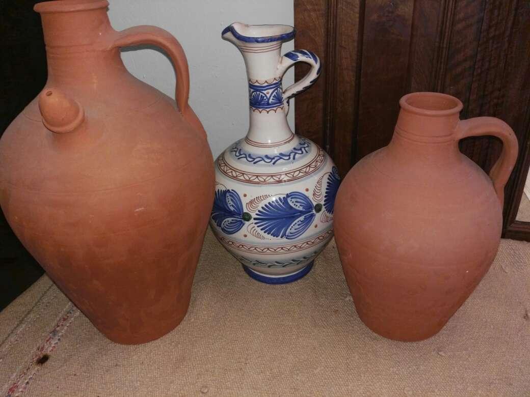 Imagen Jarrones de barro y ceramica