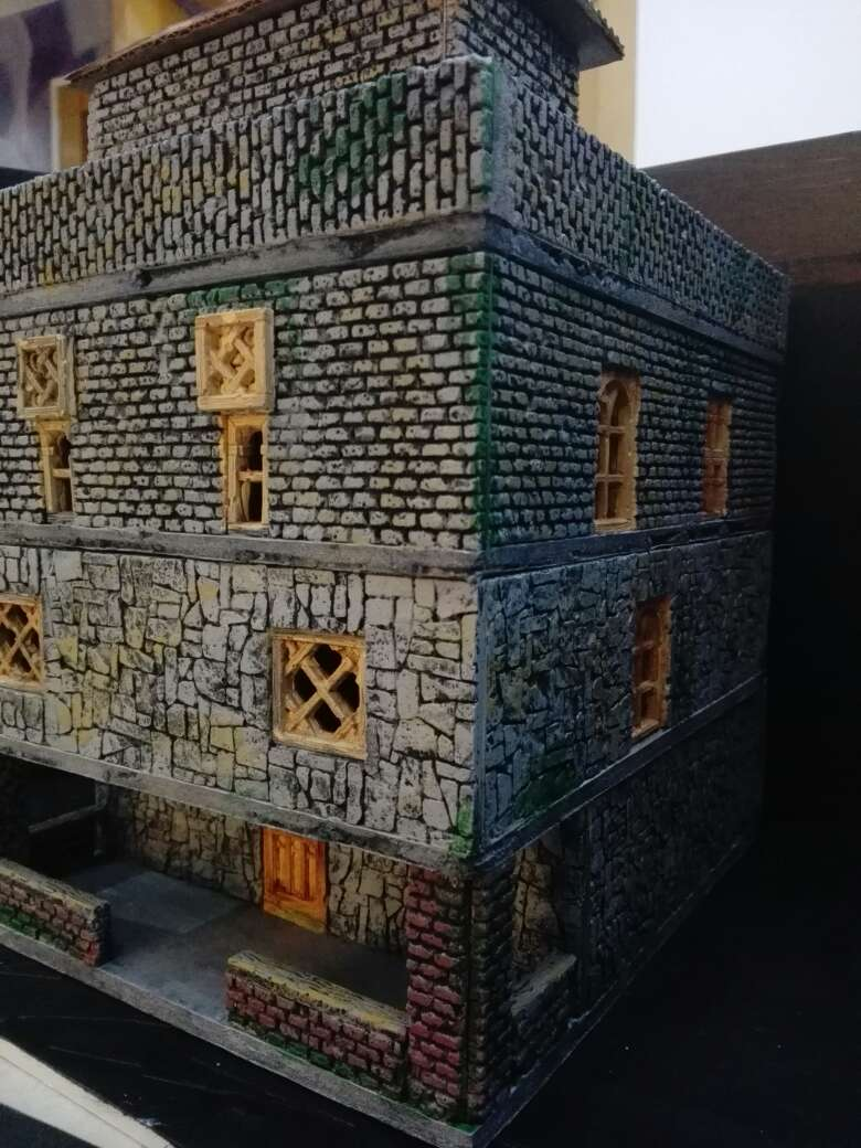 Imagen edificio, fortificación