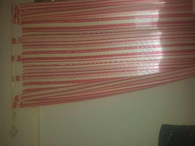 Imagen cortinas de rayas