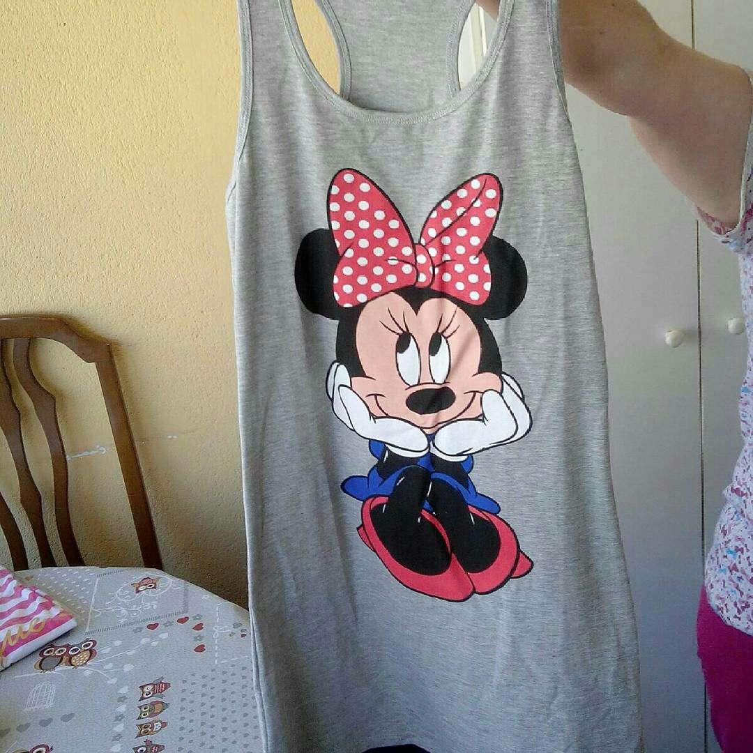 Imagen Camiseta Minnie Gris sin usar