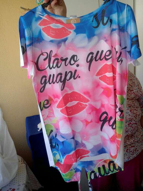Imagen producto Camiseta Claro Que Si Guapi sin usar 2