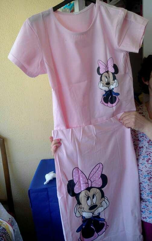 Imagen producto Conjunto Minnie sin usar en rosa 2
