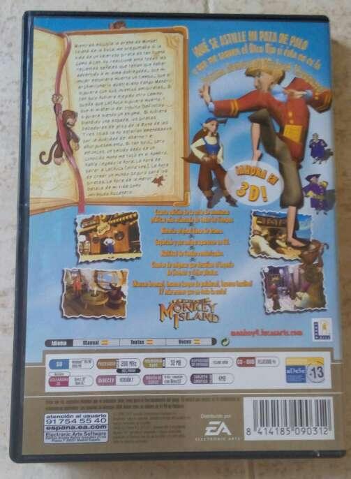 Imagen producto La fuga de monkey island versión Legends PC 2