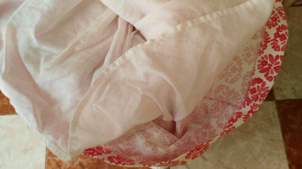 Imagen producto Vestidito con coletero talla 4añitos. 4