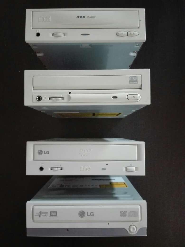 Imagen lector CD, CD-RW, DVD, DVD-RW