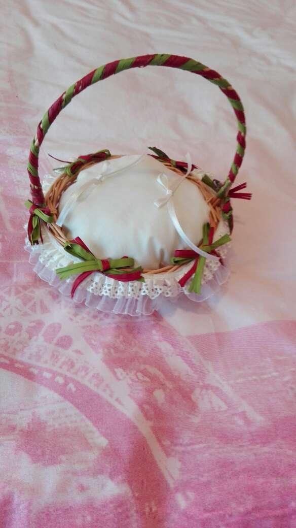 Imagen producto Cesto para anillos de boda 2