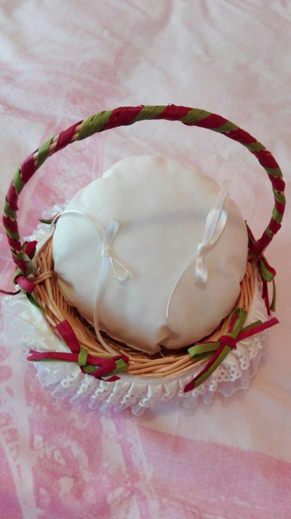 Imagen producto Cesto para anillos de boda 3