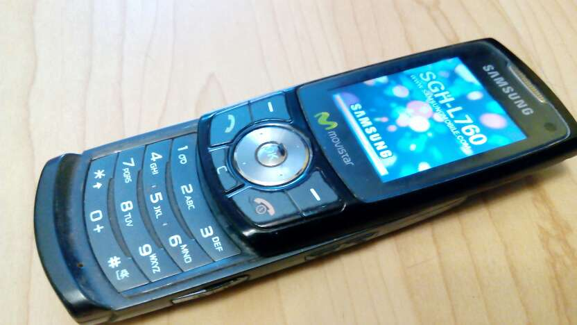 Imagen Samsung L760 libre