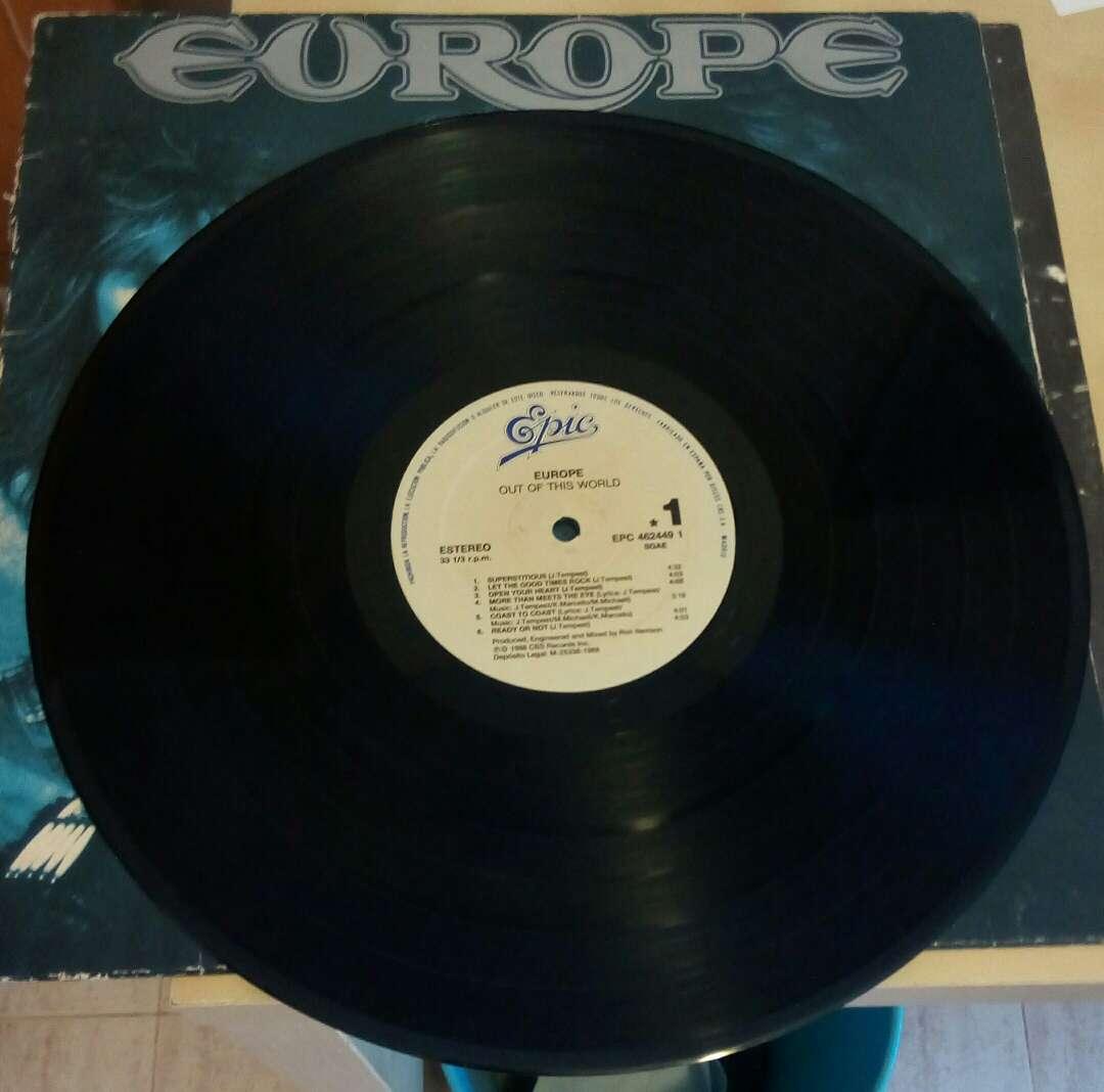 Imagen producto Disco vinilo Europe 2