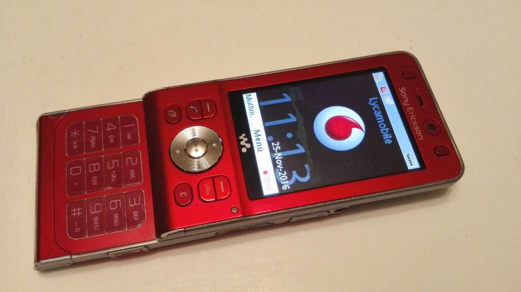 Imagen Sony Ericsson w910i libre