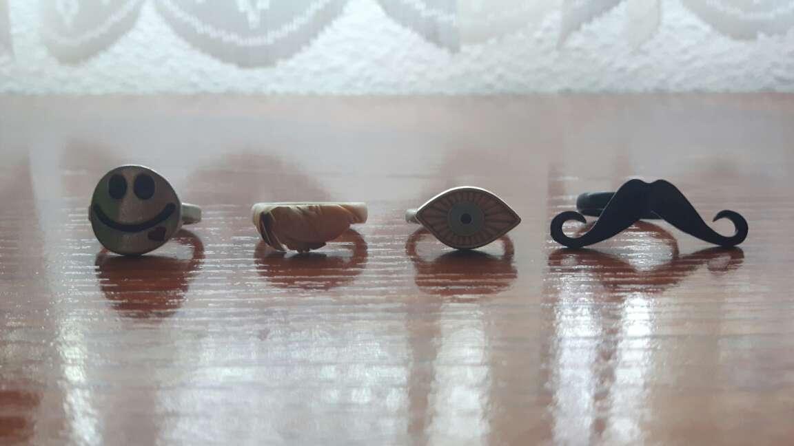 Imagen anillos de niña