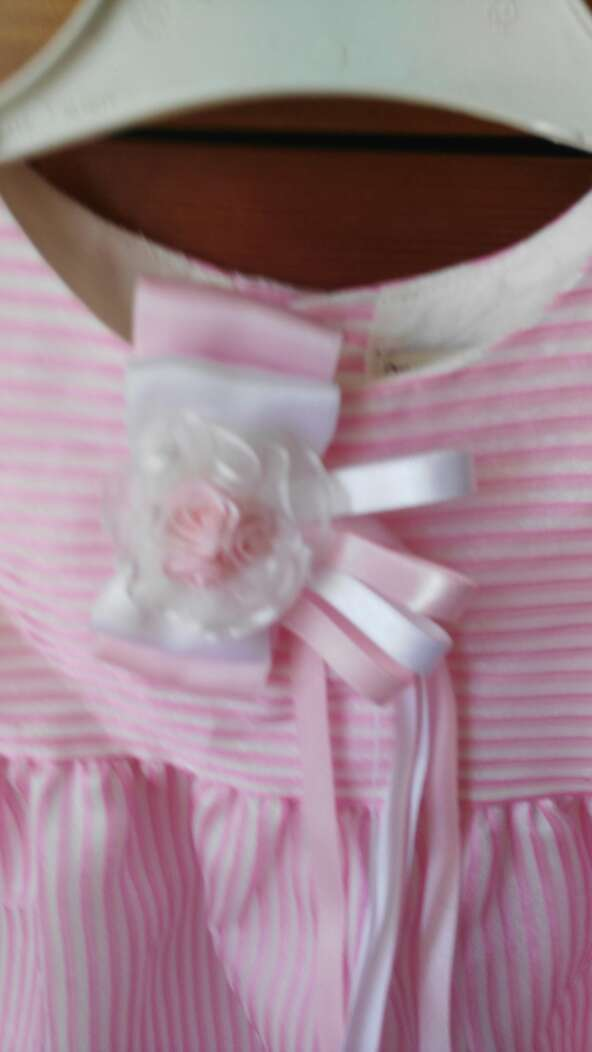 Imagen producto Vestido niña de gasa talla 1/ 2. 2