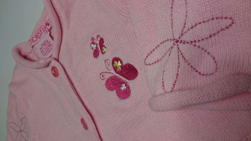 Imagen producto ORCHESTRA Chaqueta Rosa bordada  2