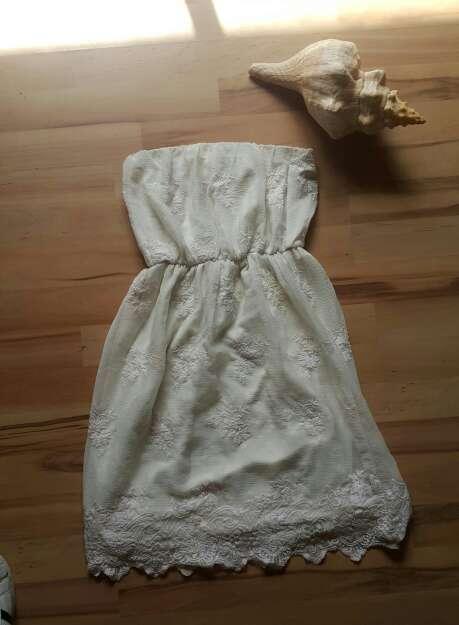 Imagen vestido ibicenco Palabra de honor de bsk talla S=34
