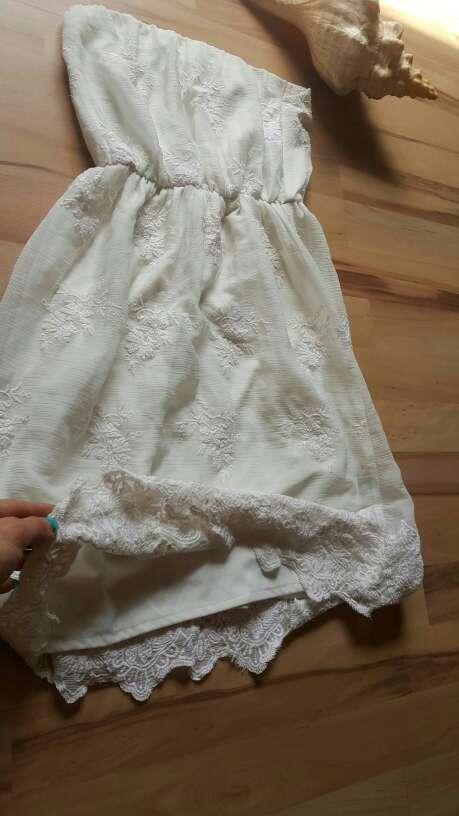 Imagen producto Vestido ibicenco Palabra de honor de bsk talla S=34 2