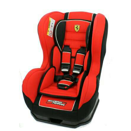 Imagen Silla Ferrari Cosmo color con isofix.